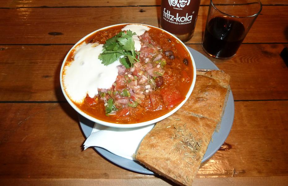 ´Chili´n´ er Mikunas personlige udgave af en chili con carne på Mikuna