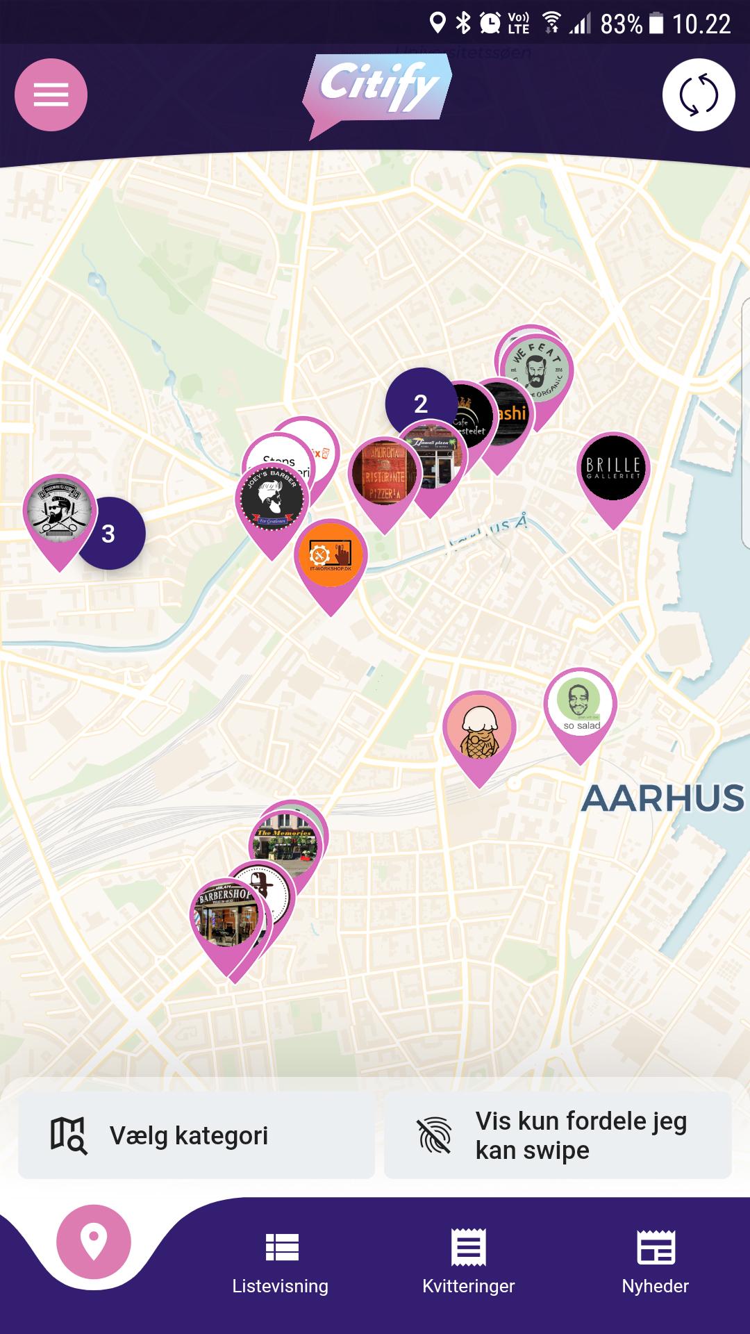 Citify: Ny fordelsklub og inspirationsguide i Aarhus