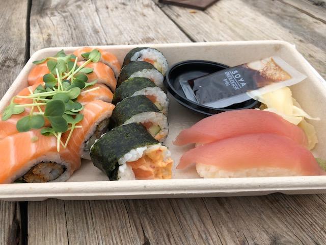 Letz Sushi: Festival og sushi er et godt match