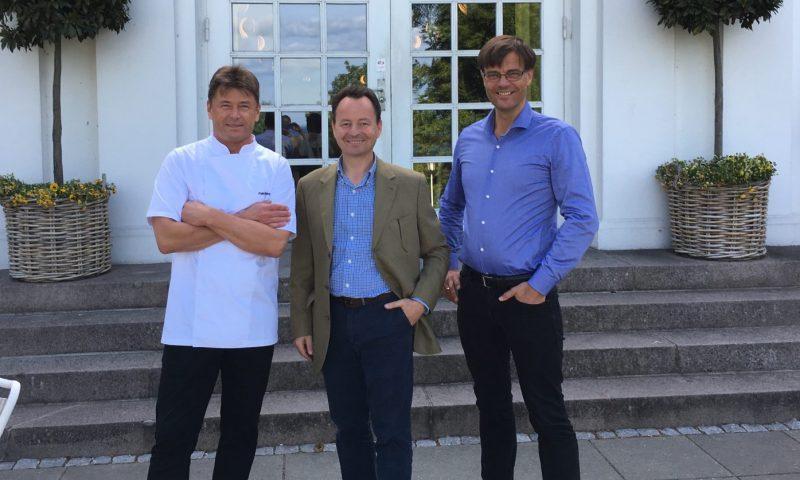 På billedet ses Palle Enevoldsen , Lars bo Guldhammer Henriksen og Michael Moosbrugger.
