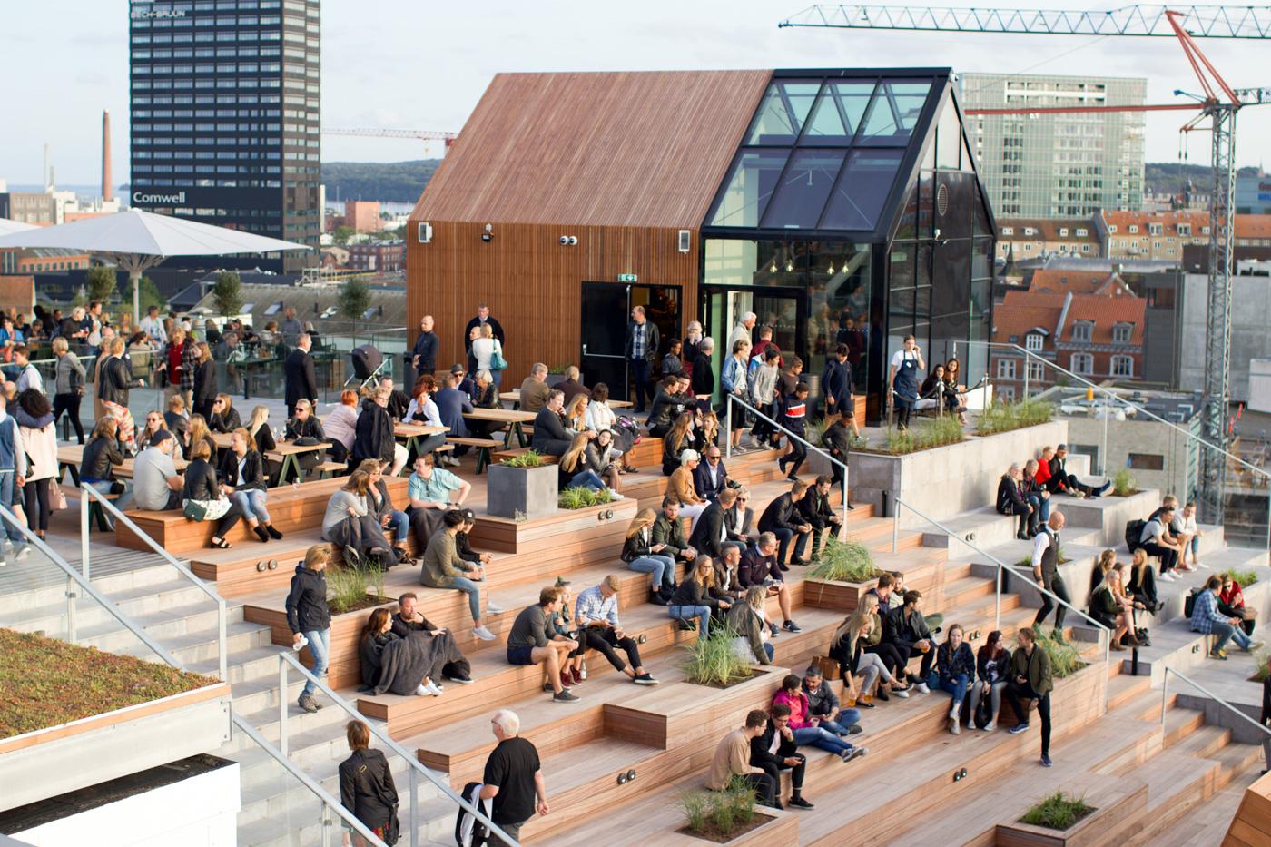 Salling Rooftop: Sebastian Klein og Verdens Skove på toppen