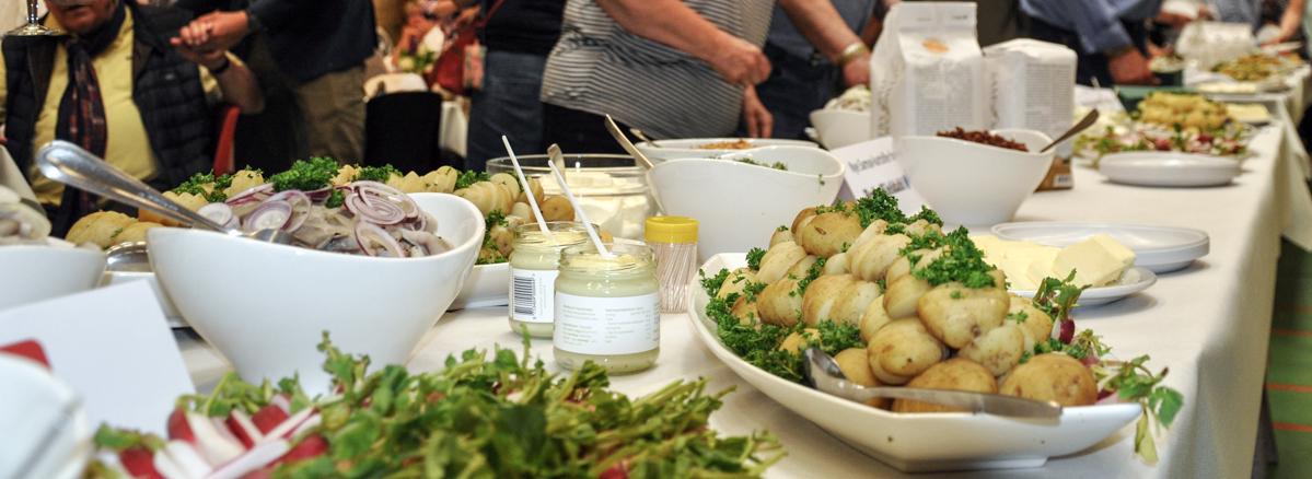 Vinderen af Samsøs bedste kartoffelmad - se de fantasifulde stykker her: