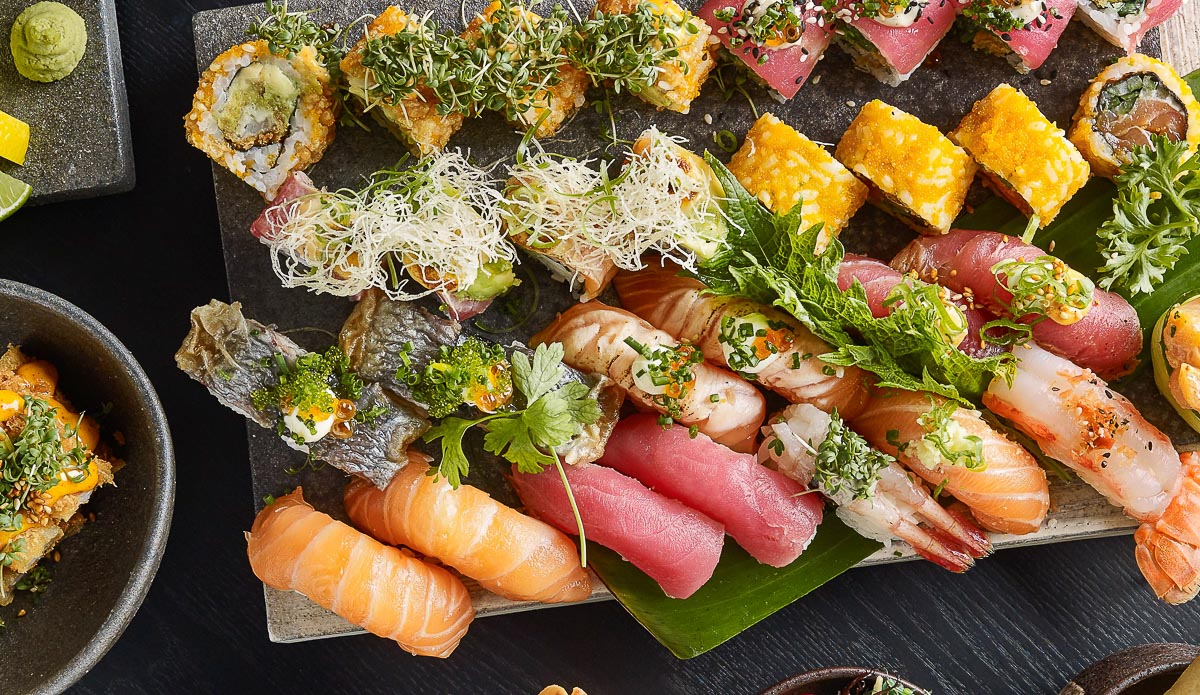 30 stykker sushi fra Karma Sushi i Frederiksgade - Aarhus Update