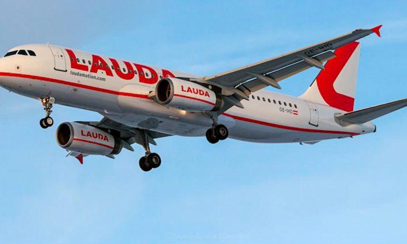 Laudamotion debuterer i Billund Lufthavn