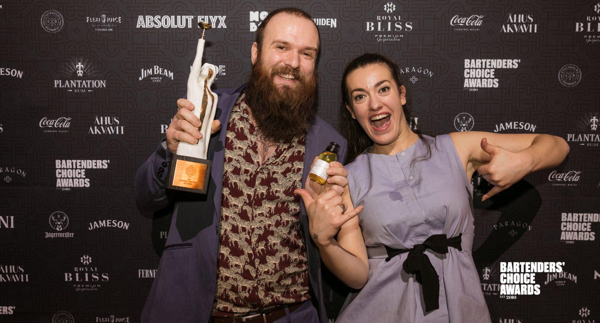 Hos Gedulgt: Vinderne af Bartender's Choice Awards 2019 laver et unikt pop-up lørdag aften