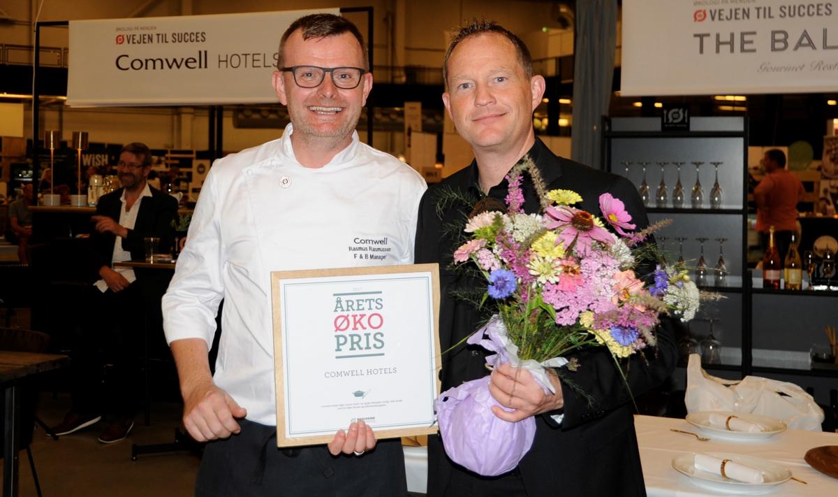 Comwell Aarhus modtager Årets Økopris