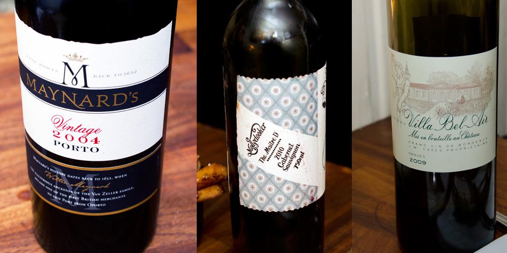 Aftens tre vine på Klassisk 65