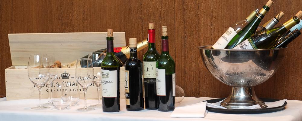 Aftens vin på La Pyramide