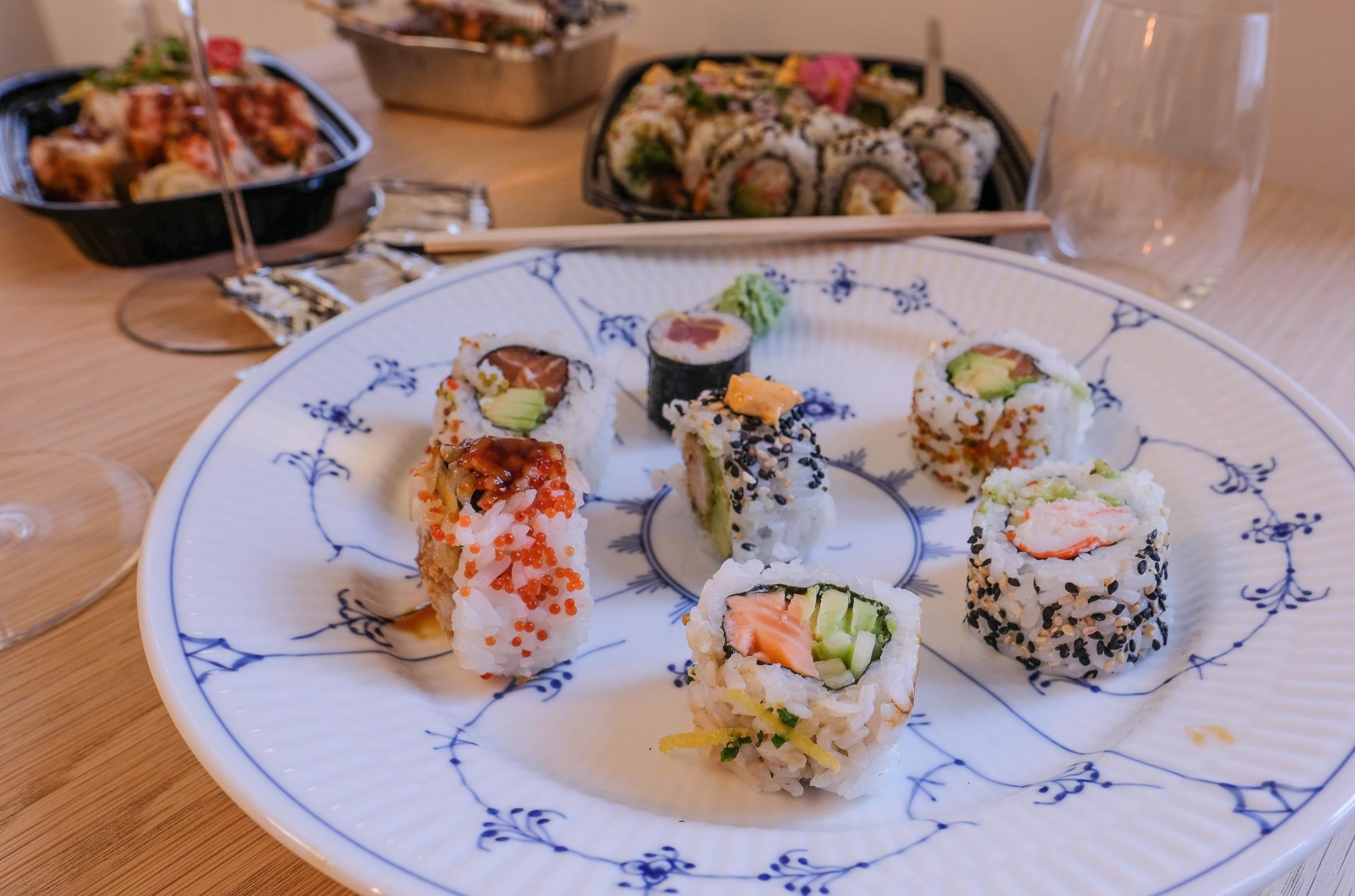 Anmeldelse af Bluefin Sushi: Vi skal jo lige igang, og ja, ting tager tid - sådan er det!