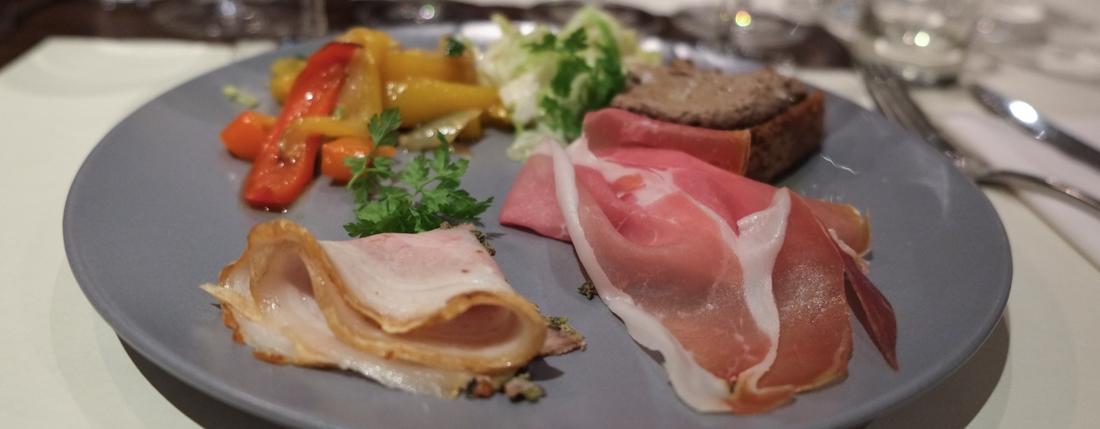 Antipasto misto til italiensk dinner hos Nordens Folkekøkken