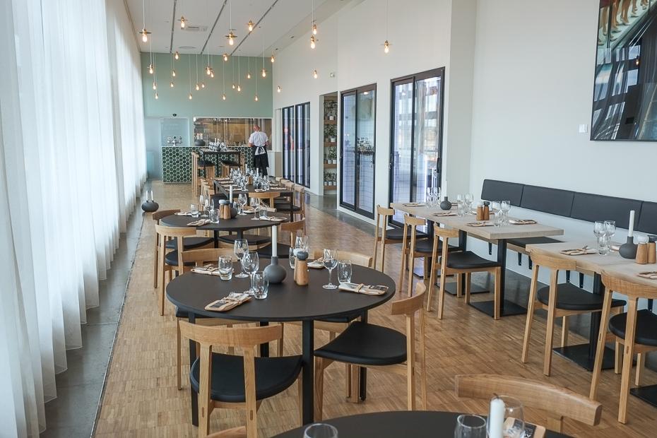 Aros Food Hall på toppen af Aarhus_