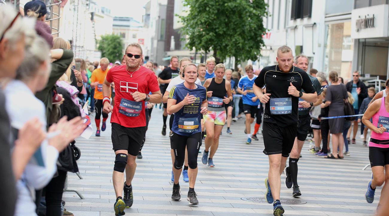 BESTSELLER Aarhus City Halvmarathon inviterer til mere miljøvenlig løbefest