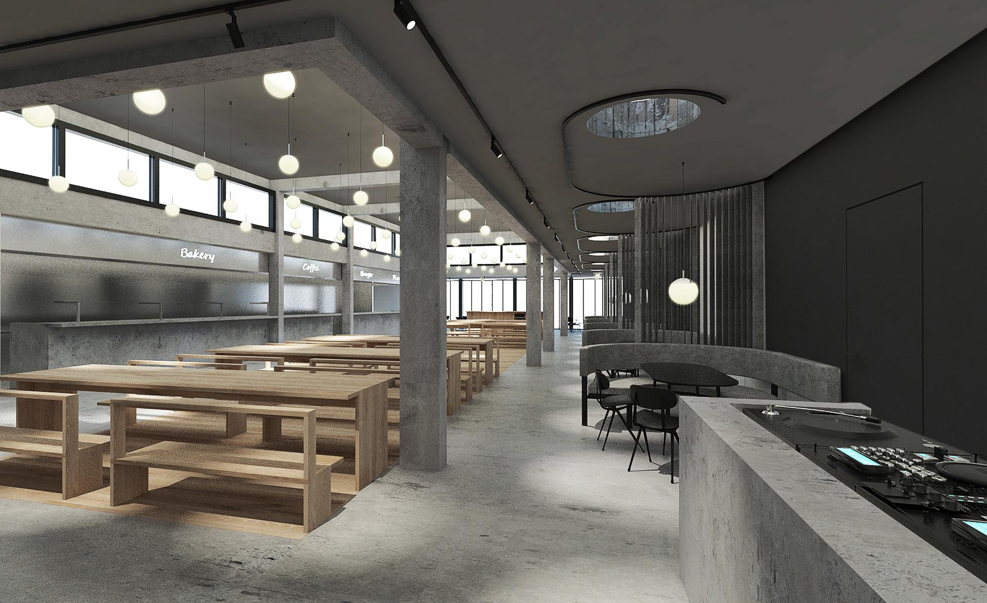 Mølleparken: BOOK1 Design Hostel og lokal madiværksætter åbner Food Court