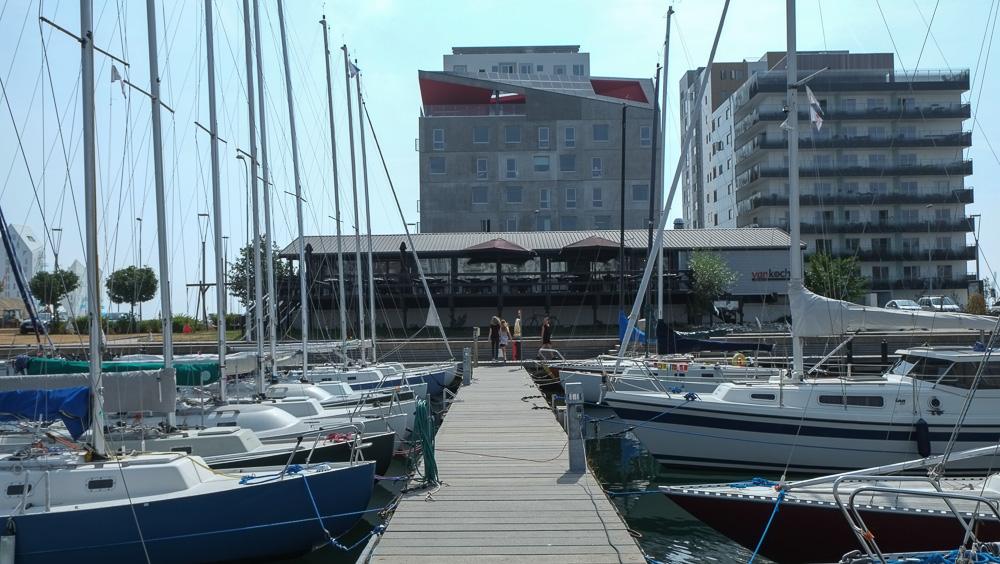 Bådebroen ved Brasserie Vankoch