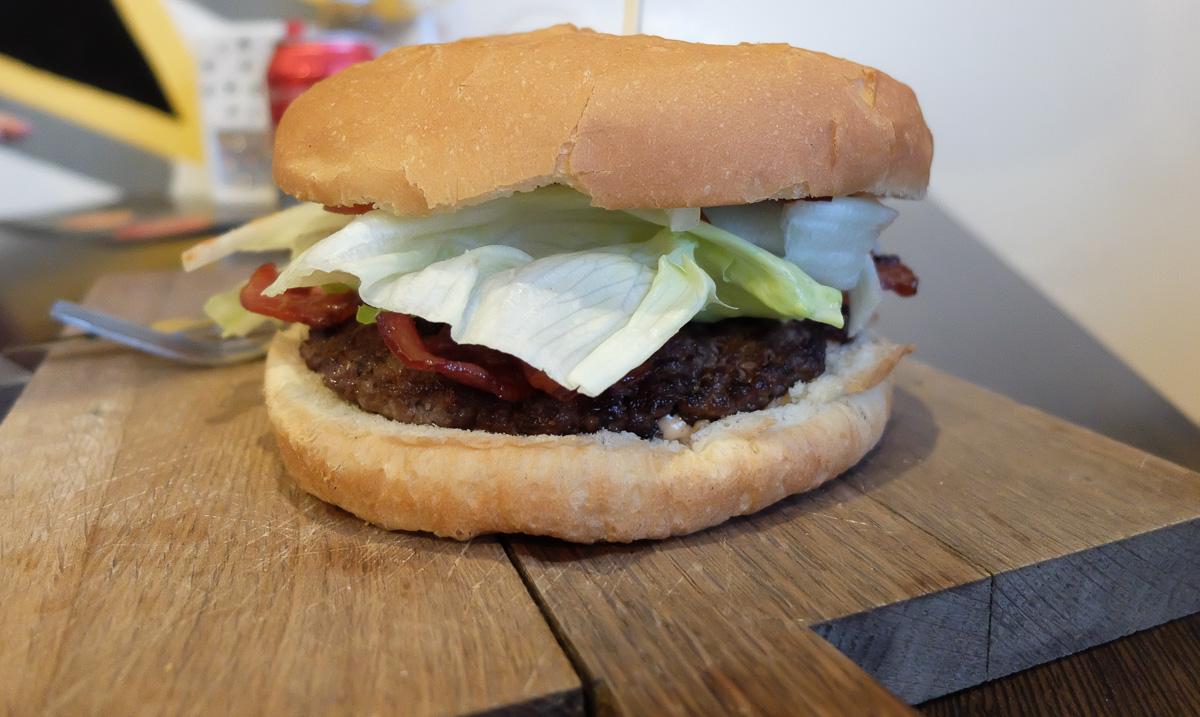 Baconburgeren hos Burger Hut - Aarhus Update