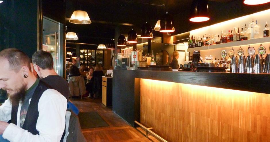 Baren på Café Viggo