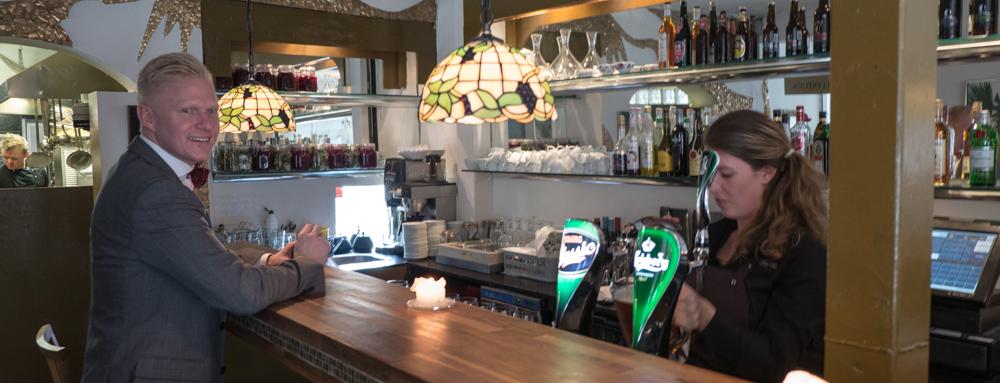 Baren på Den Lille Kro i Århus