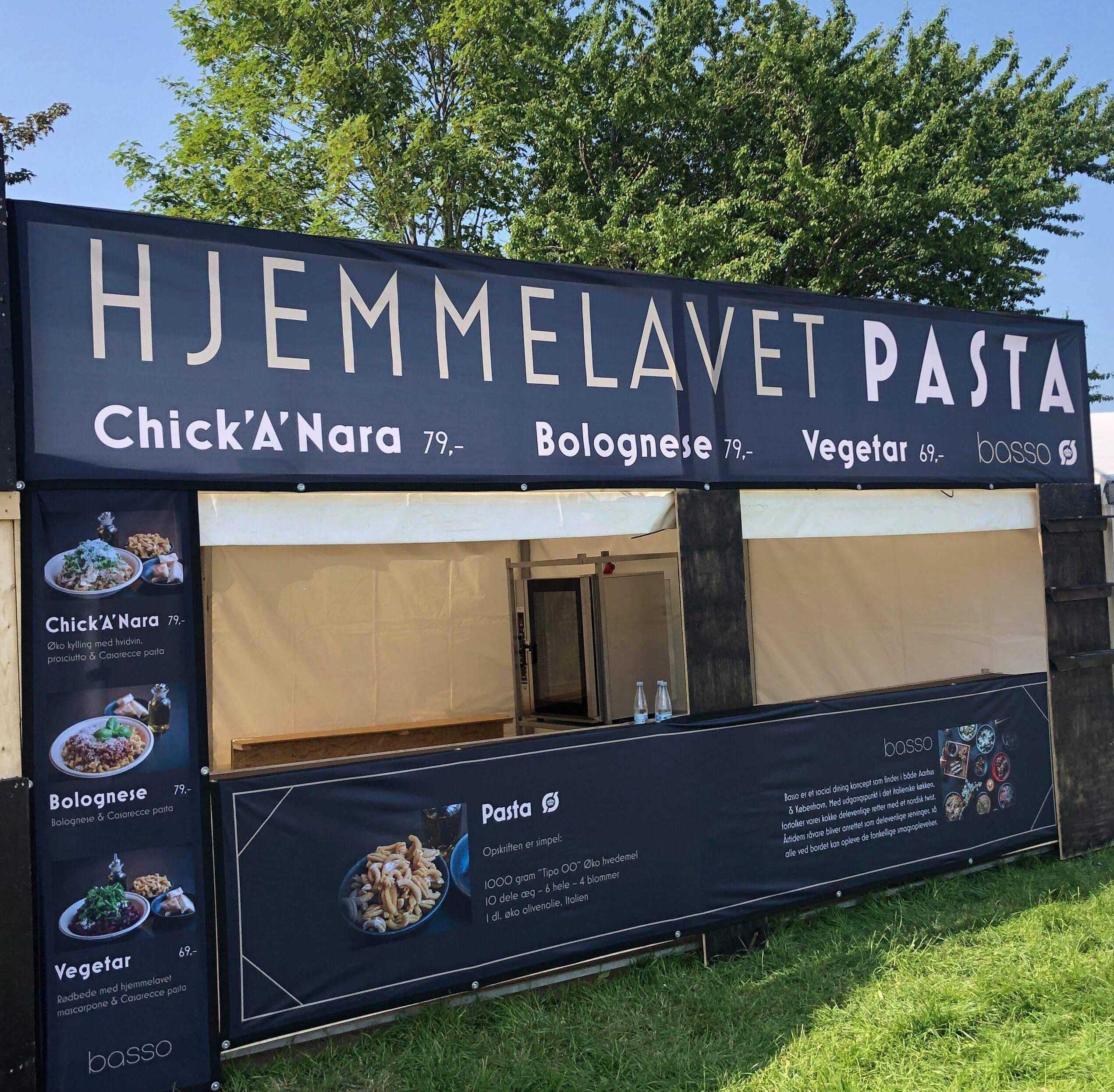 Basso på festival: Glæd dig til hjemmelavet pasta på NorthSide