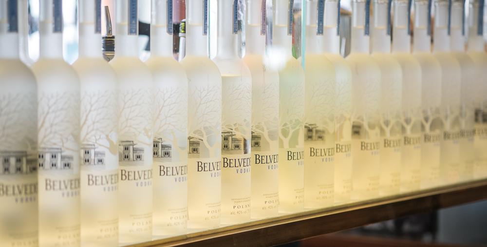 Belvedere Vodka på Casablanca