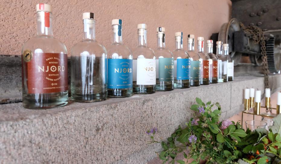 Besøg hos Njord Gin