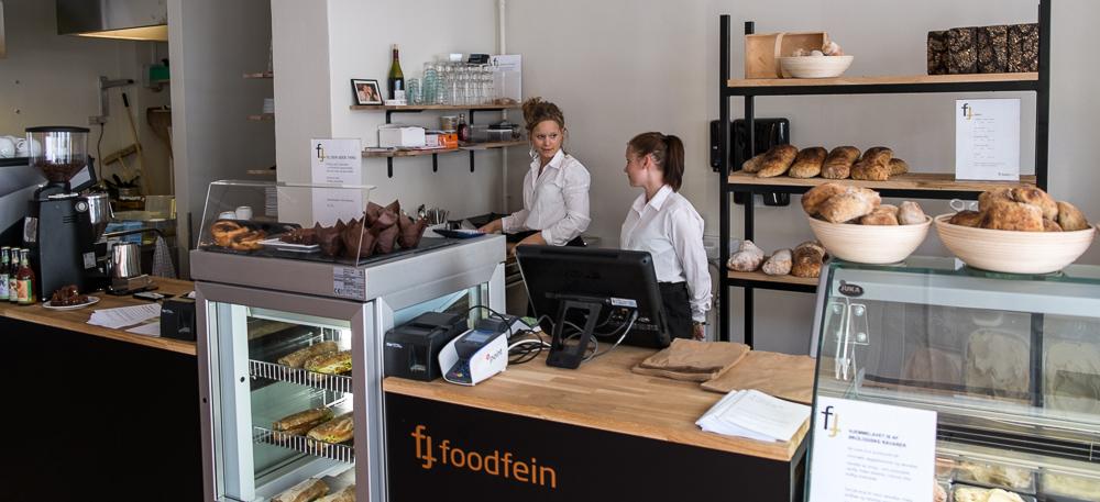 Betjeningen hos Foodfein i Aarhus
