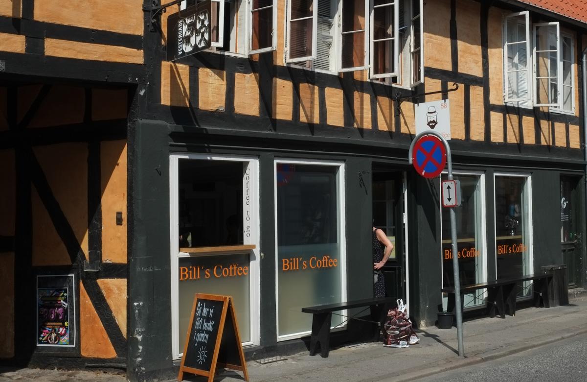 Fem kaffebarer i Aarhus
