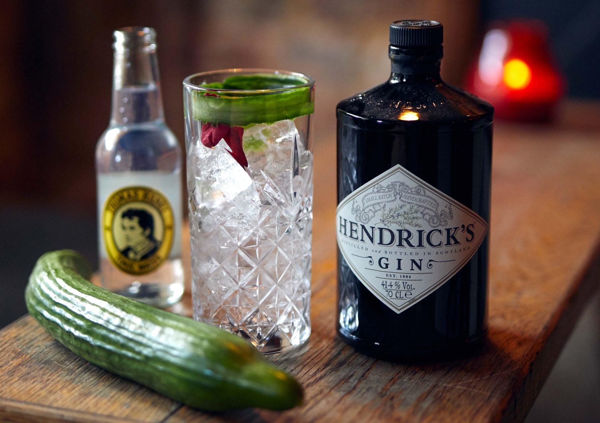 Slut med agurketider: Byt en agurk til en forfriskende Hendrick's Gin & Tonic