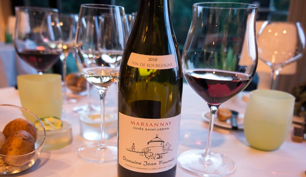 Bourgogne, Domaine Jean Fournier på Frederikshøj