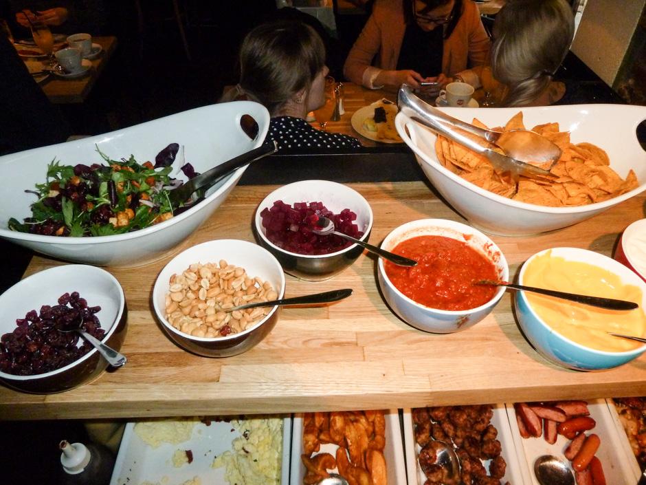 Buffet på Café Ziggy_