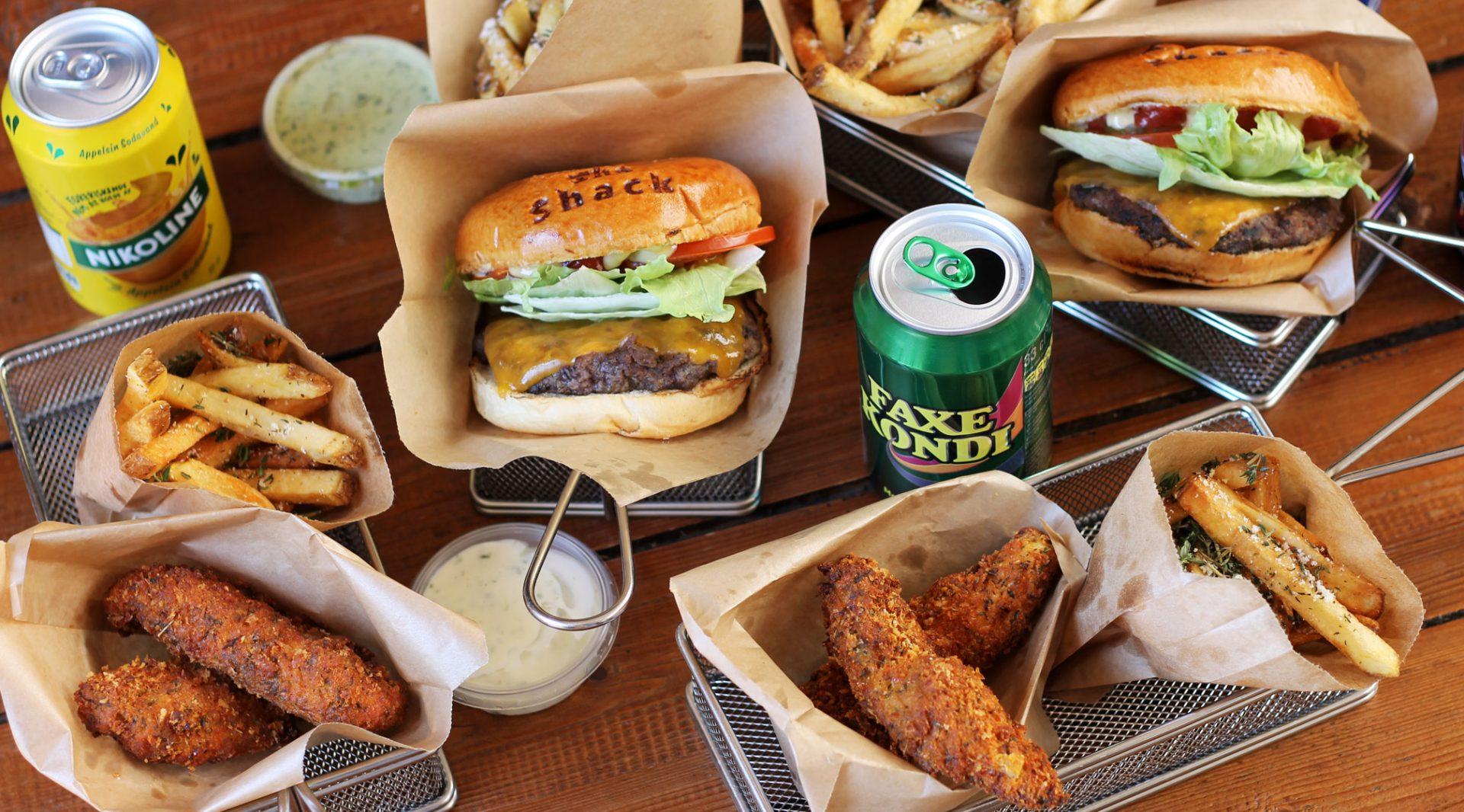 Burger Shack fejrer 4-års fødselsdag: En menu koster kun 50 kroner