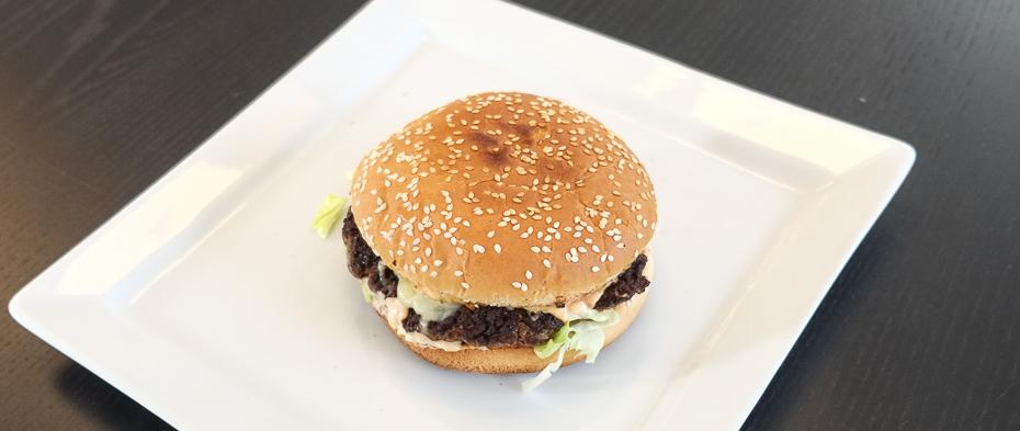 Burger fra Jerry's i Aarhus N