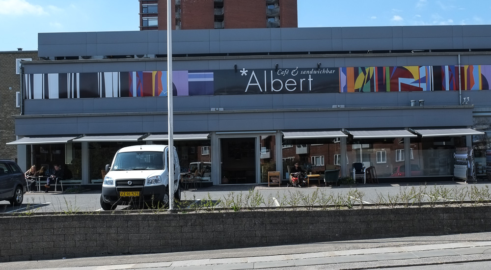 Café Albert på Christiansbjerg
