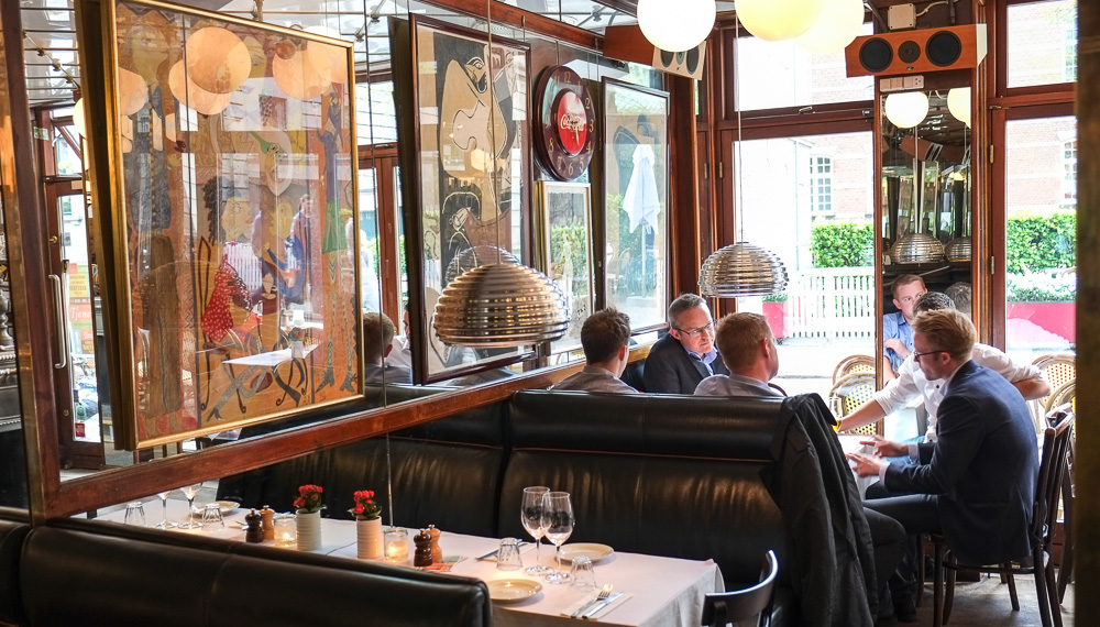 Café Casablanca i Rosensgade