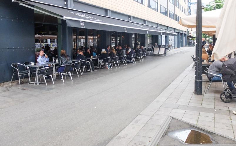 Café Faust ved åen i Aarhus