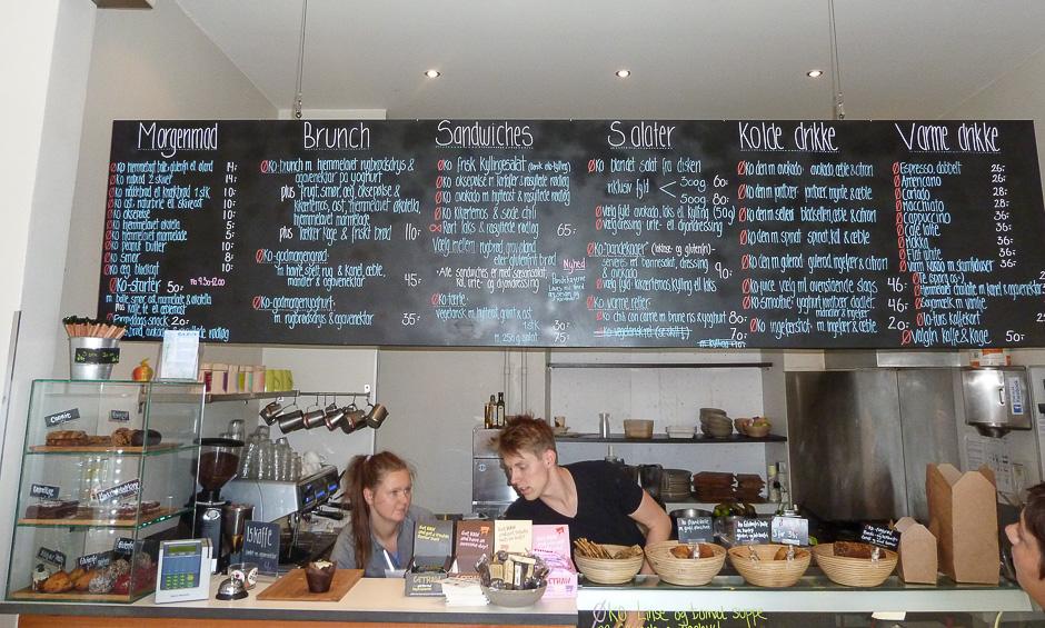 Café GLAD! i Aarhus