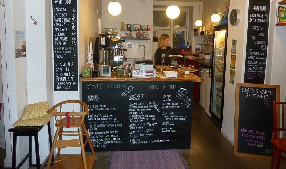 Café Ganefryd i Latinerkvarteret