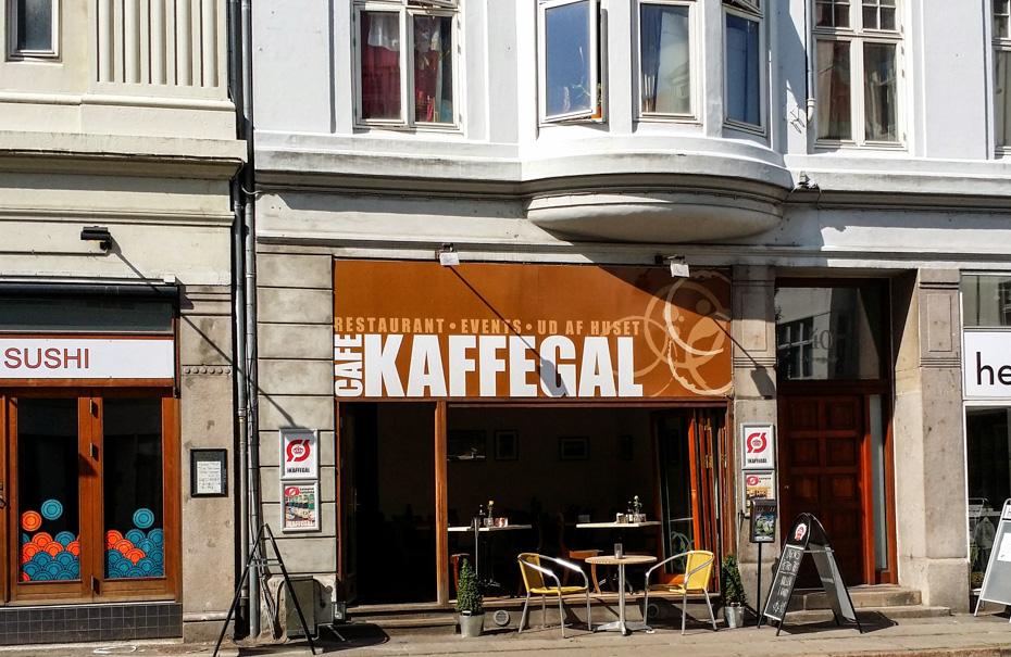 Café Kaffegal i Nørregade i Aarhus