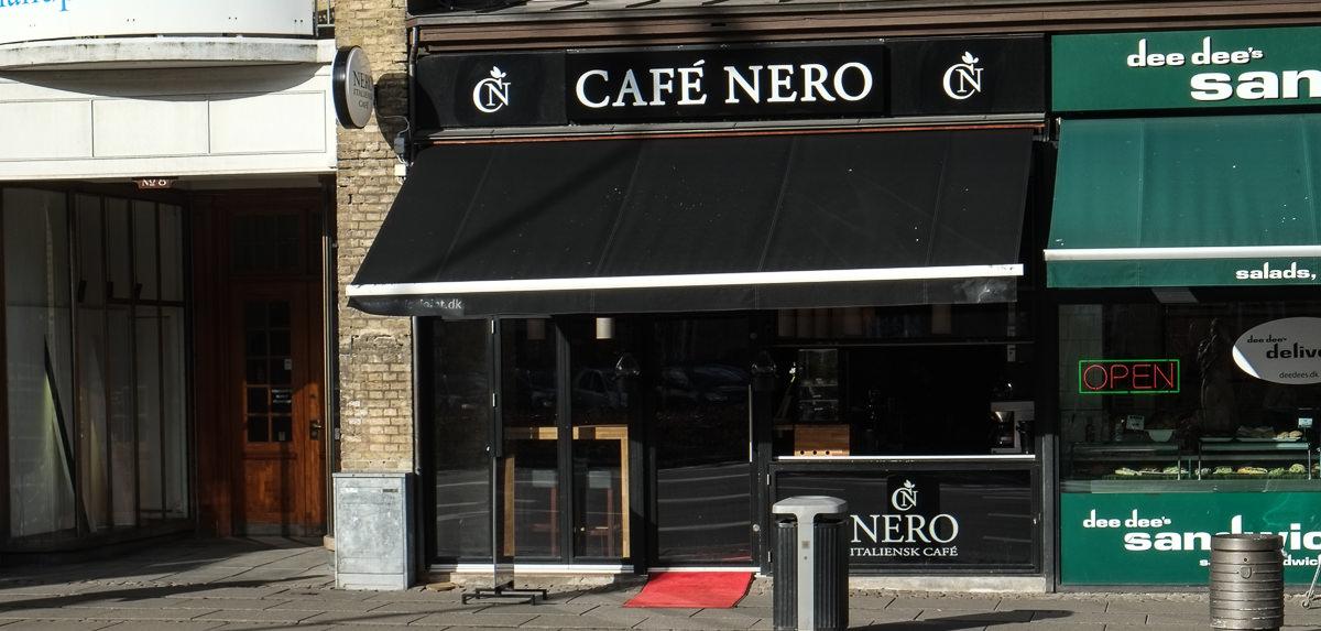 Café Nero på Banegårdspladsen i Aarhus