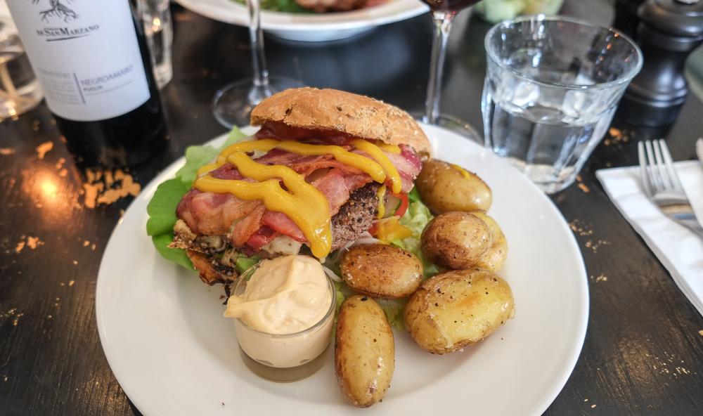 Caféburgeren på Drudenfuss