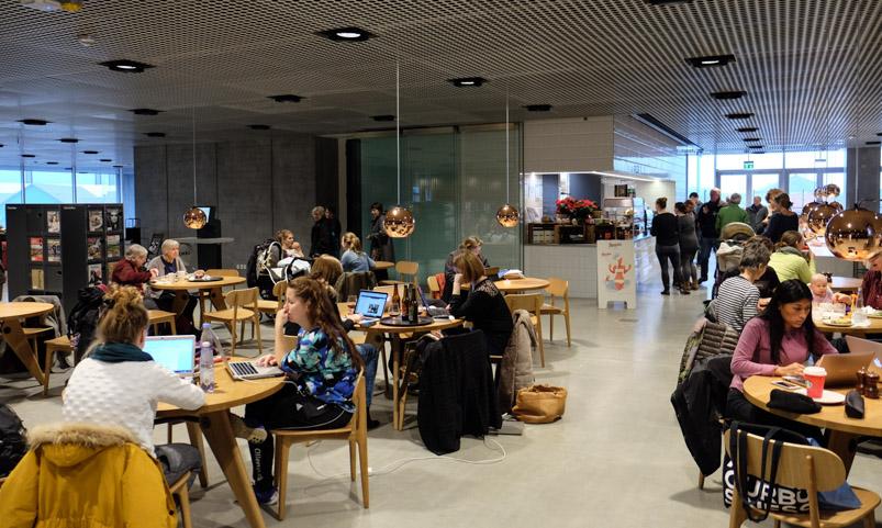 Caféen i Dokk1_