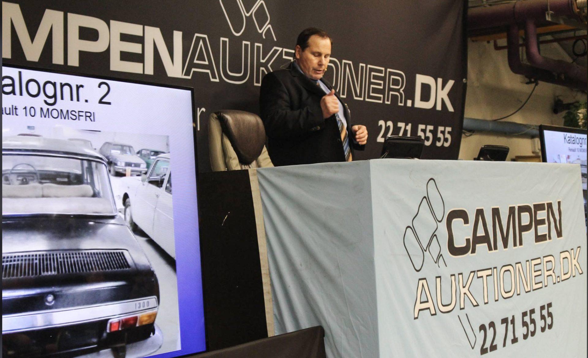 Online-succes i corona-krisen: Campen Auktioner oplever stor efterspørgsel