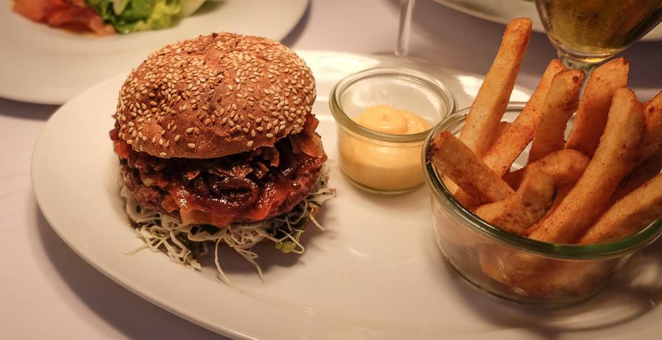 Casablanca-burgeren version 2 på Casablanca