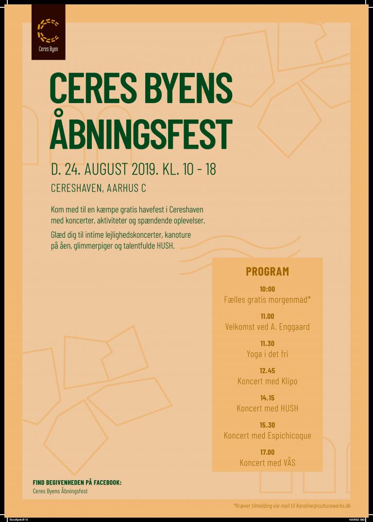 Ceres Byen: Aarhus' nye by holder et brag af en åbningsfest