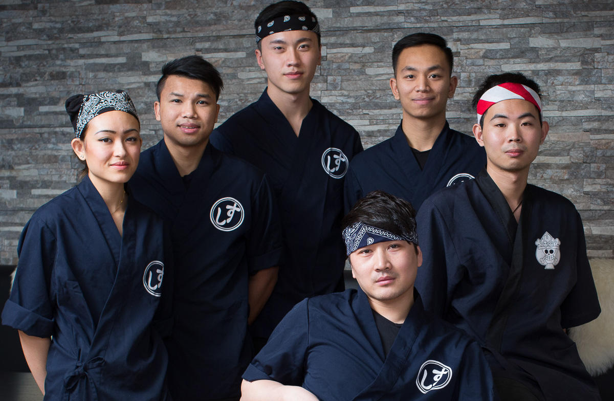 Personalet på A+ Siam Sushi