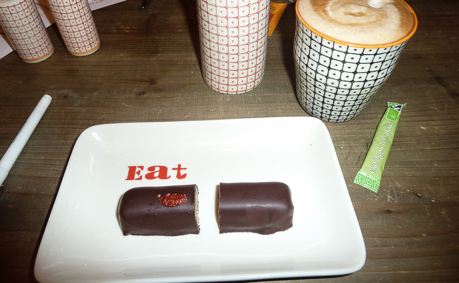 Chokolademultibar og kaffe hos Fika i Jægergårdsgade