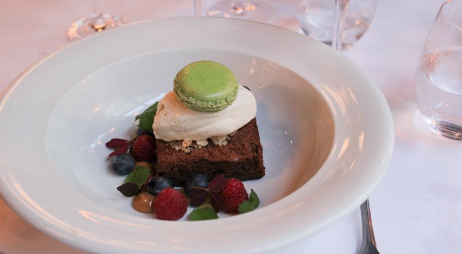 Chokoladekage på Carlton