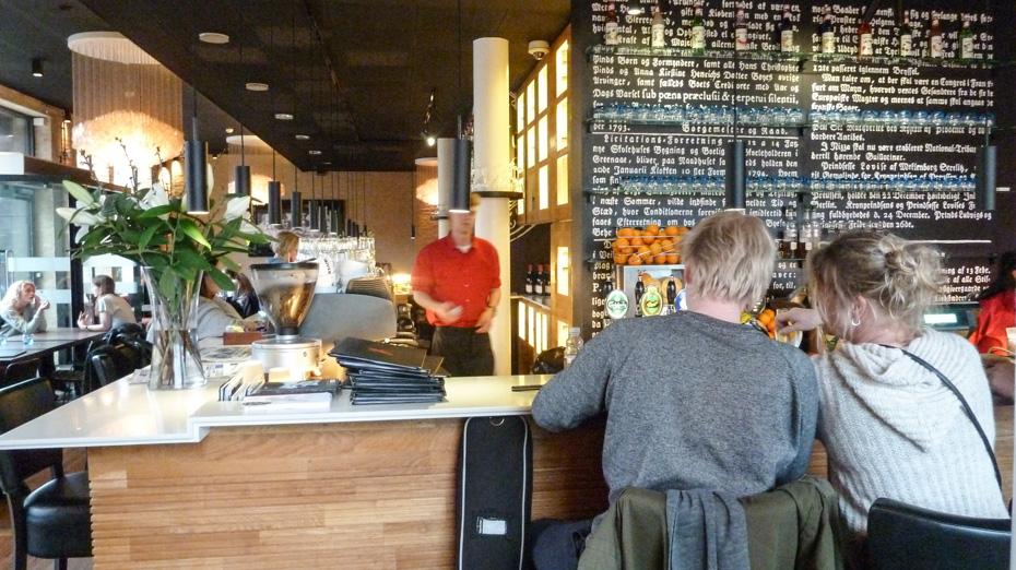 Cool indretning på Café Stiften_