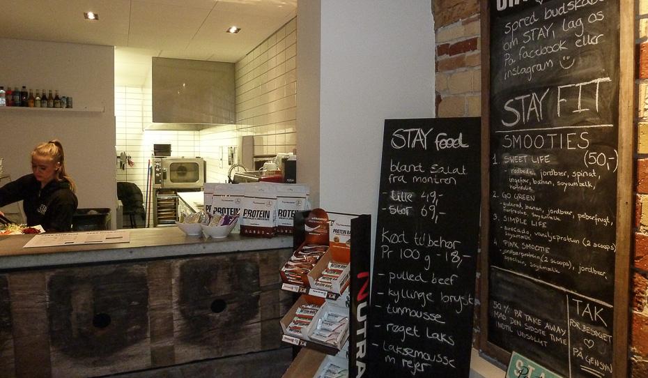 Cool stemning på Café Stay i Aarhus_