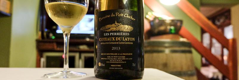 Coteaux du Layon fra Domaine du Petit Clocher på Dauphine