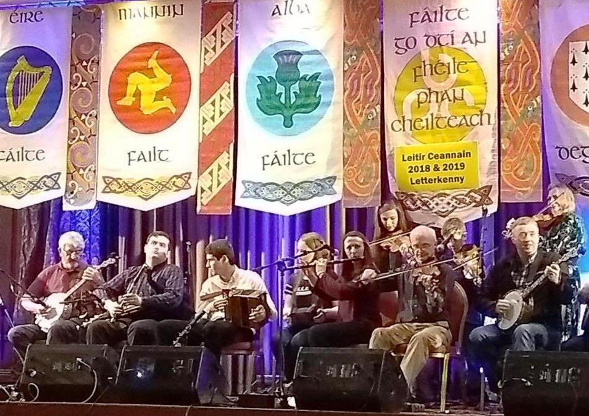 Gratis koncert: Craobh Leitir Ceanainn (Irl.) - trad.Irish seisún på Tir Na Nog
